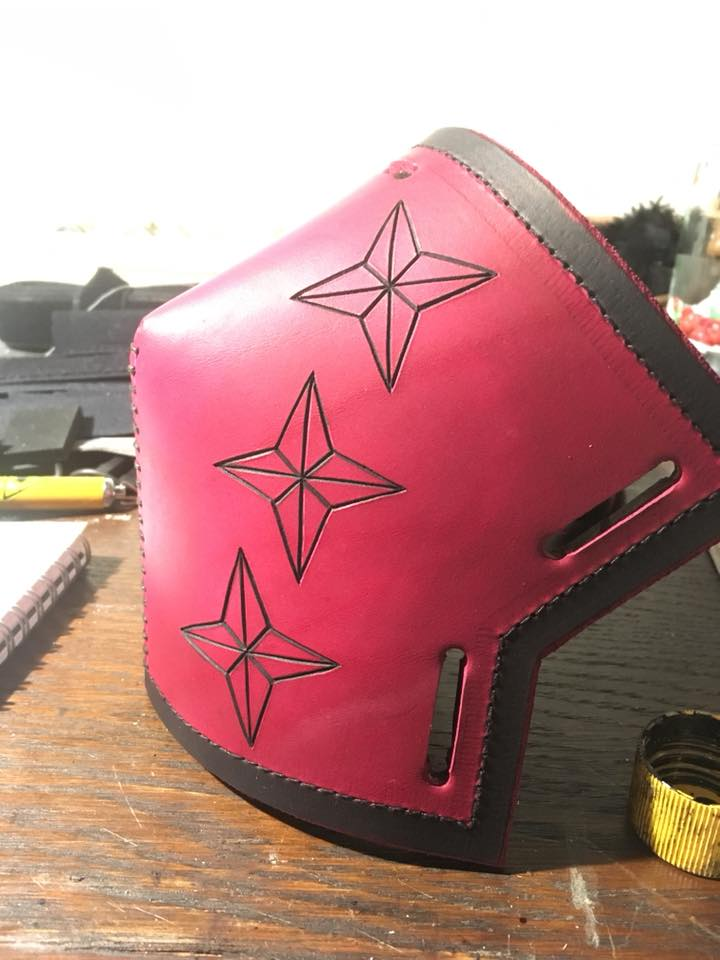 HEMA gear - Nyzell Leather and Steel artist